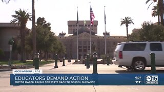Educators demand action for back to school guidance