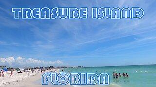 TREASURE ISLAND FLORIDA 2021- A beautiful beach!