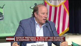 Duggan addresses restarting construction in Detroit