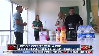 KSCO hosts Coffee with a Cop