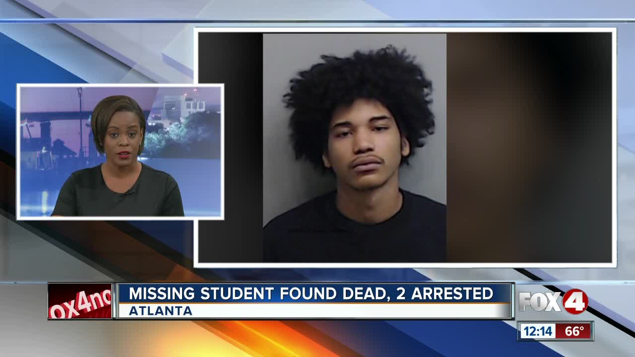 Missing Clark Atlanta University student found dead, 2 arrested