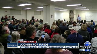 Jefferson County weighs options for budget shortfalls