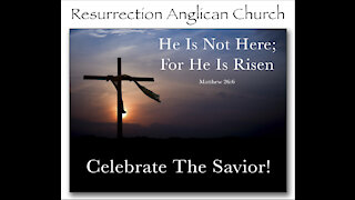 Resurrection Sunday Sermon. Bishop Ian Anderson