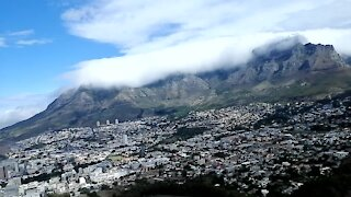 SOUTH AFRICA - Cape Town - Table Mountain Timelaps (Video) (ss5)