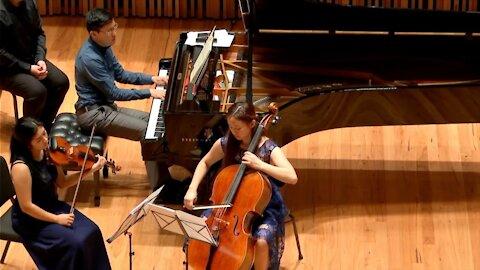 Brahms Piano Trio in A major Op. Posth: I. Moderato