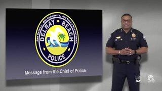 Delray Beach police chief decries death of George Floyd