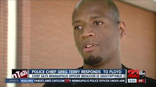 Police Chief Greg Terry responds to Floyd case