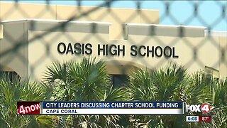 City leaders discuss charter school funding
