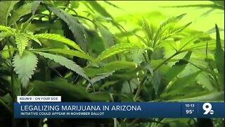 Arizona marijuana legalization initiative to be placed on November general election ballot