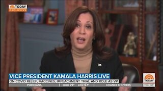 Harris Starts Stammering When Asked About Biden's Shifting Standards