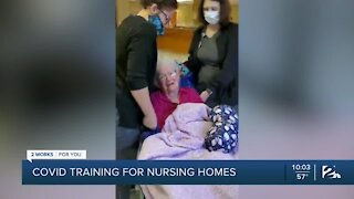 COVID-19 training for nursing homes