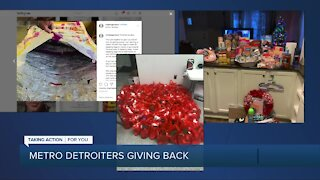 Season of giving: Highlighting metro Detroiters giving back this holiday
