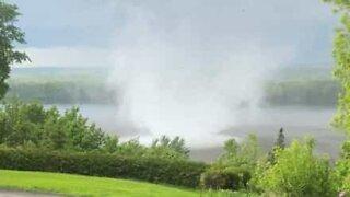 Ontario residents capture birth of a tornado!