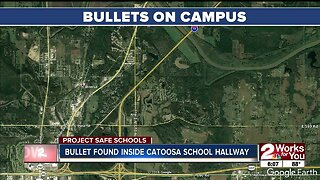 Catoosa Public Schools: Bullet found in hallway on Tuesday