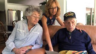Delray Beach couple celebrates 73 years of marriage amid COVID-19