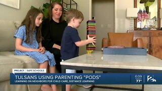 Tulsa parents using 'pods' to keep their kids social while virtually learning
