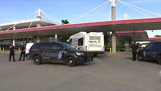 Man in critical condition after Metro Bus shooting