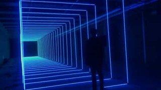 Mind-controlled LED light show!
