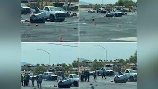 Woman dies in 5-car crash on Tuesday, North Las Vegas police say