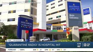 'Quarantine Radio' show at Johns Hopkins All Children's Hospital lifts staff spirits during pandemic