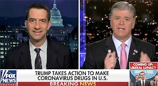 Tom Cotton wants to block corona bailouts for illegal aliens