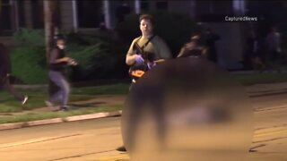 Authorities search for possible 'vigilante' following deadly shooting in Kenosha, report says