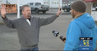 """Michigan Biz Owner Interrupts on Live TV: """"Wake up, stand up, this is America, be free!"""""""