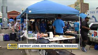 Detroit Lions 2019 Fantennial Weekend
