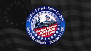 Patriot Car Rally - Santa Clarita, California - Nov 1st, 2020