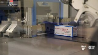 Local hospitals receive Moderna COVID-19 vaccine
