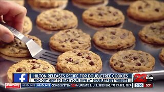 DoubleTree by Hilton releases famous cookie recipe