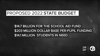 Looking at the needs of school districts in the COVID-19 pandemic