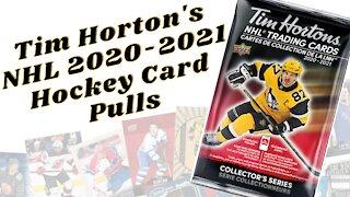 Tim Horton's NHL Trading Cards Pull #7