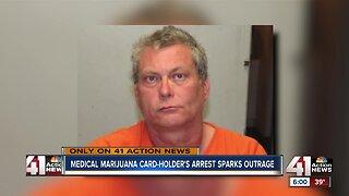 Medical marijuana card-holder's possession arrest sparks outrage