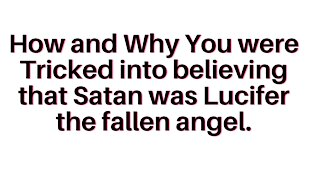 the covert operation of Lucifer the Fallen Angel