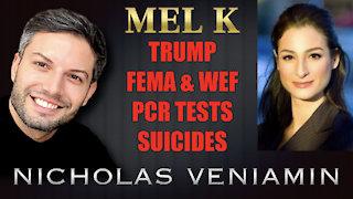 "Mel K Discusses Trump, FEMA, WEF, PCR Tests & ""Suicides"" with Nicholas Veniamin"