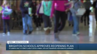 Brighton schools approve reopening plan