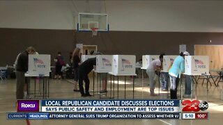 Local Republican candidate discusses upcoming elections