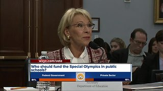 Detroit education official respond to proposed spending cuts to Special Olympics