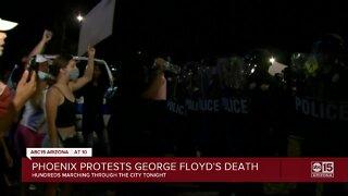 Phoenix protests George Floyd's death