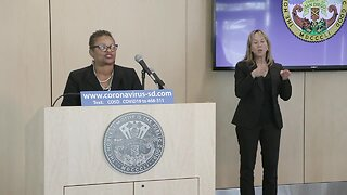 San Diego County officials announce county's first death