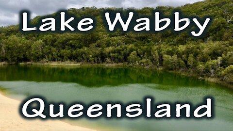 Lake Wabby Hike - Fraser Island, Queensland