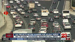 AAA projects record numbers for holiday travel period