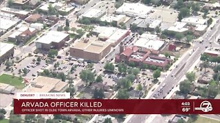 'Today is a day of sadness': Arvada Mayor Marc Williams confirms one officer killed in Olde Town shooting