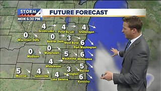 Chilly temps for Martin Luther King Day