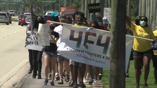 Freedom Fighters for Justice rally held in West Palm Beach