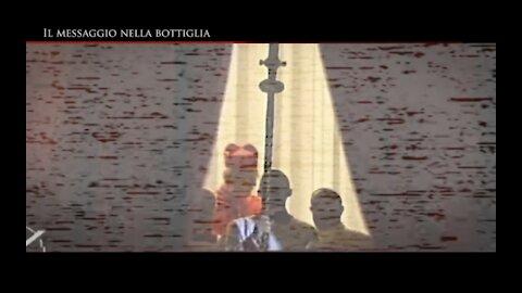 """Il mistero dietro le dimissioni di Ratzinger """"Il messaggio nella bottiglia"""" (Italian version) -> guardare da computer o in cuffia da telefono <-"""