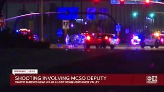 Authorities investigating reported shooting involving MCSO deputy in Surprise