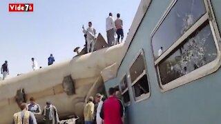 Egypt Train Crash Kills At Least 32 People