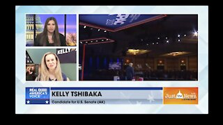 Kelly Tshibaka, Candidate AK Senate (R) - A Murkowski has been a Senator for 40 yrs time for change